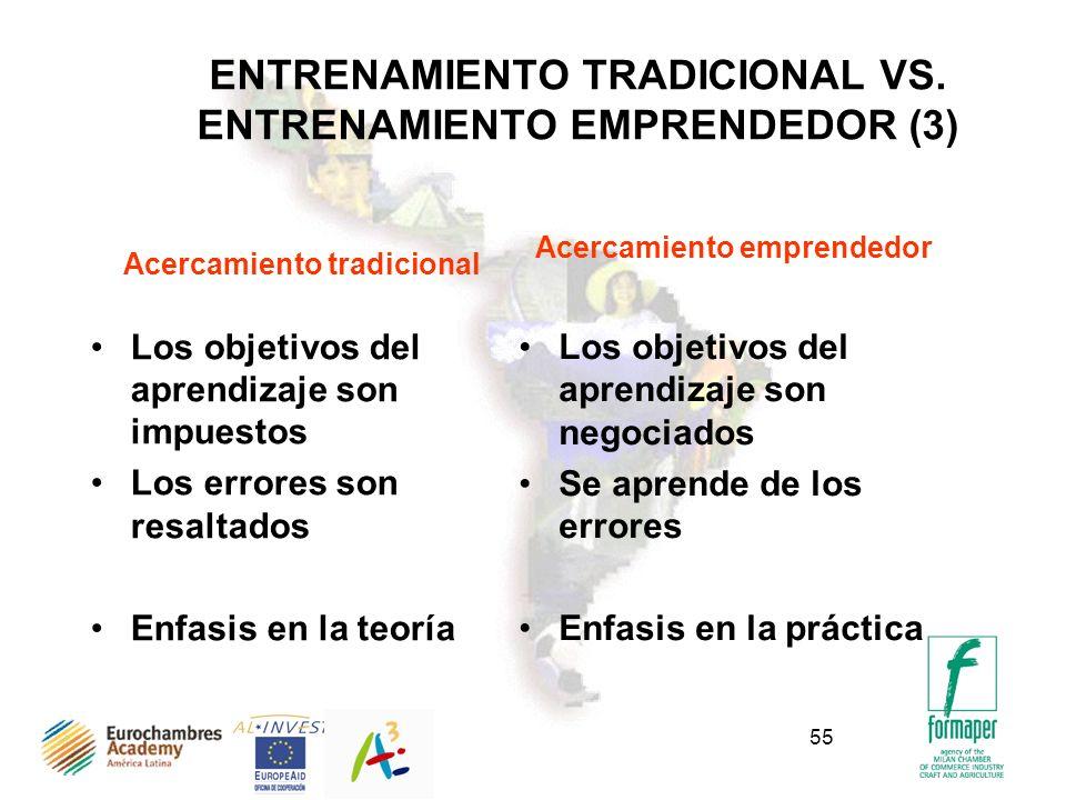 ENTRENAMIENTO TRADICIONAL VS. ENTRENAMIENTO EMPRENDEDOR (3)