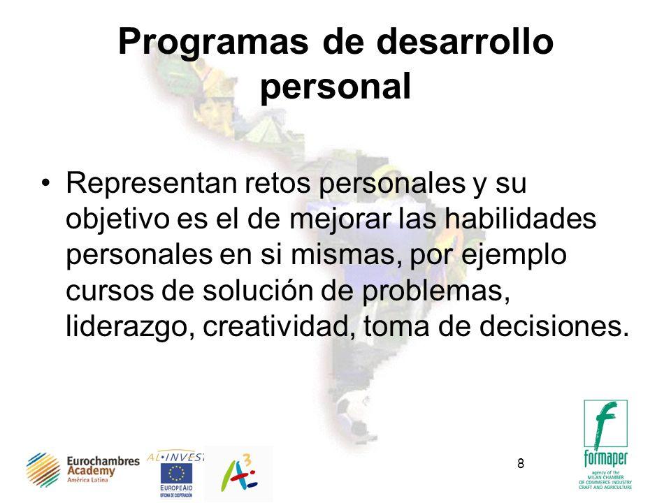 Programas de desarrollo personal