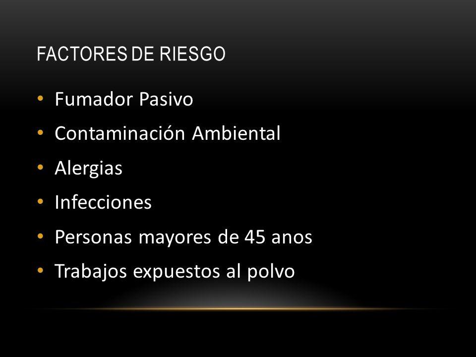 Contaminación Ambiental Alergias Infecciones
