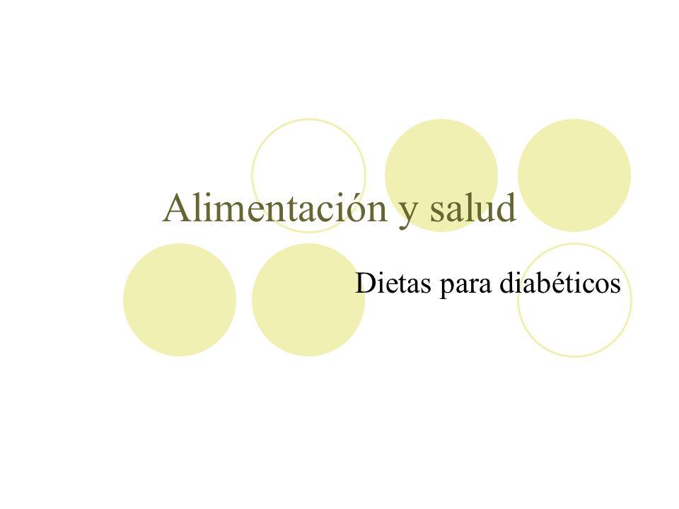 Dietas para diabéticos