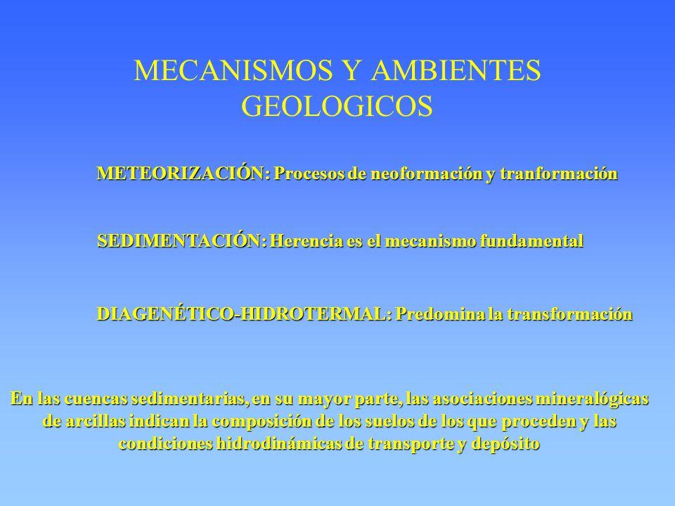 MECANISMOS Y AMBIENTES GEOLOGICOS