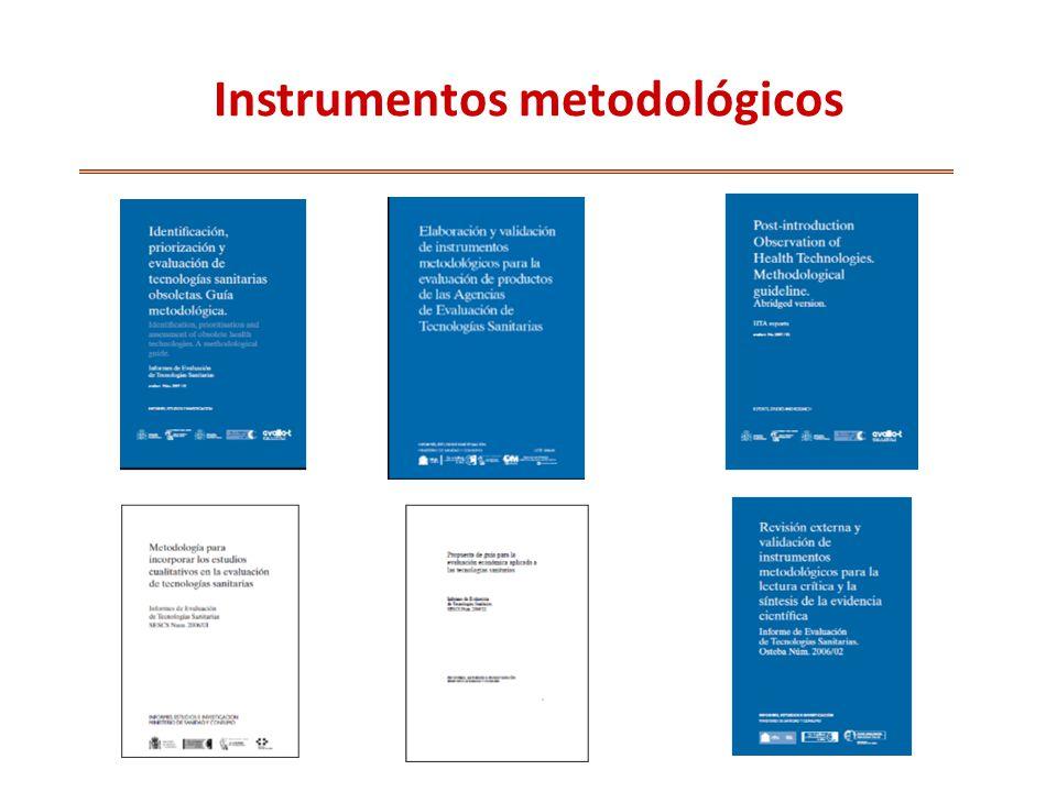 Instrumentos metodológicos