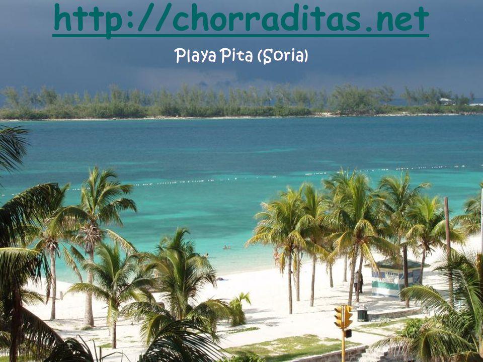 http://chorraditas.net Playa Pita (Soria)