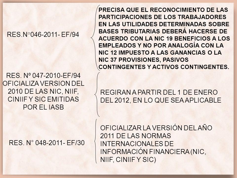 REGIRAN A PARTIR DEL 1 DE ENERO DEL 2012, EN LO QUE SEA APLICABLE