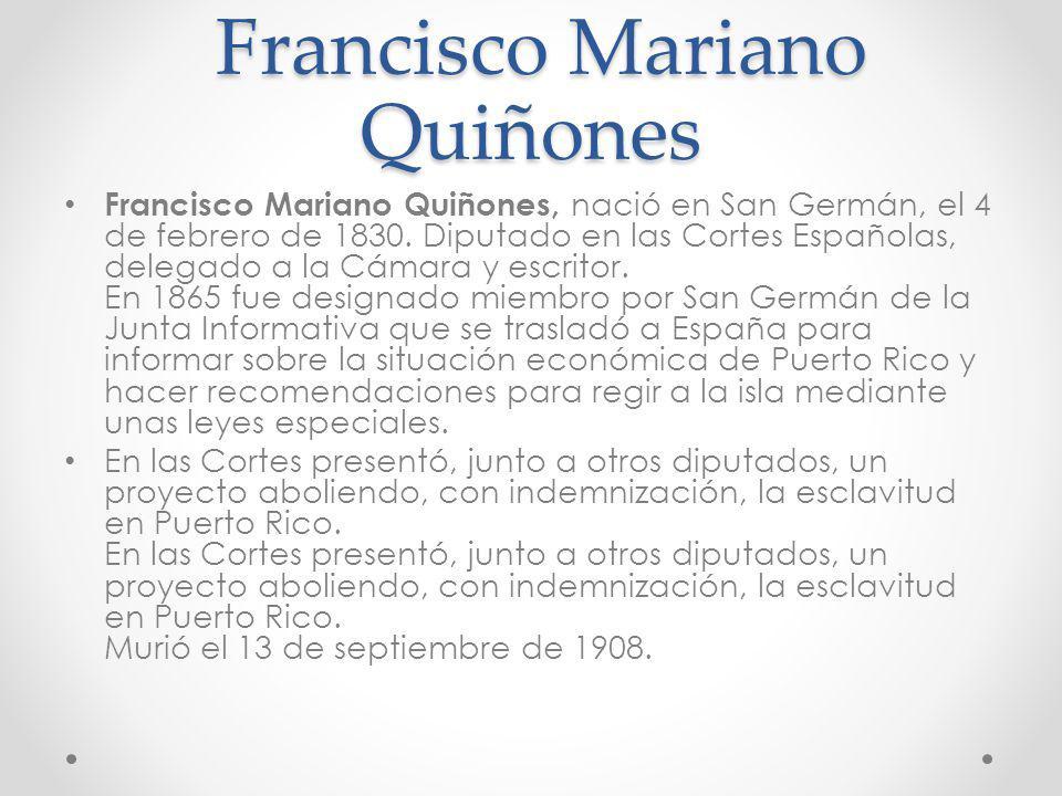 Francisco Mariano Quiñones