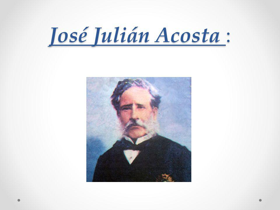 José Julián Acosta :