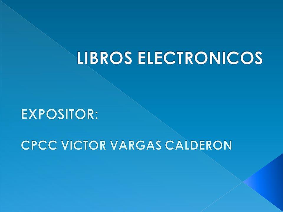 EXPOSITOR: CPCC VICTOR VARGAS CALDERON