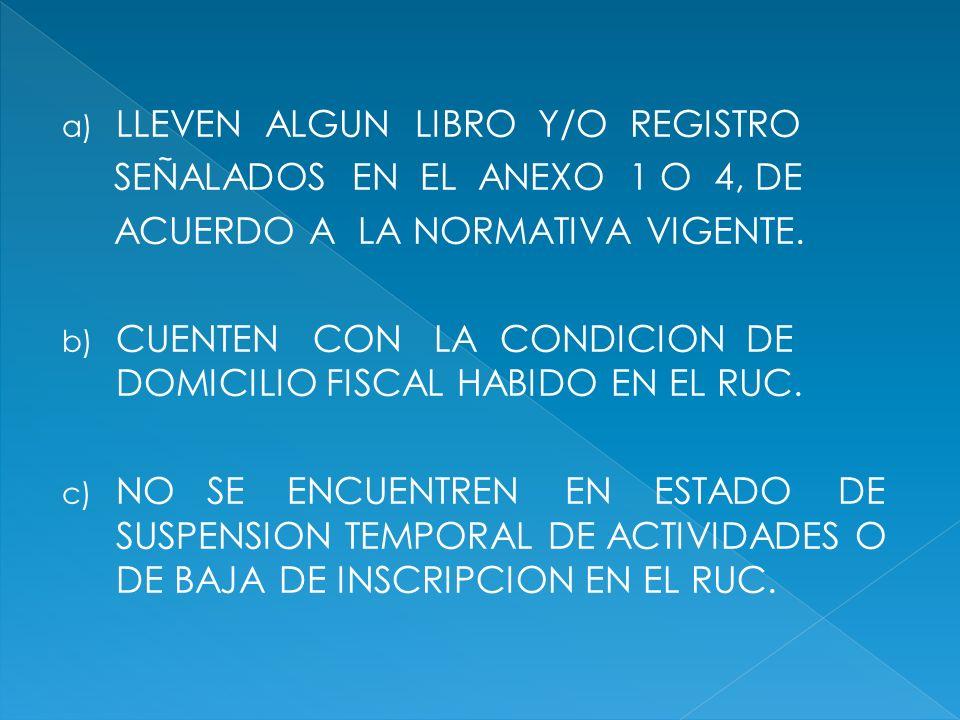 LLEVEN ALGUN LIBRO Y/O REGISTRO
