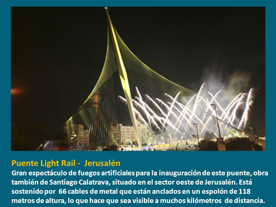 Puente Light Rail - Jerusalén