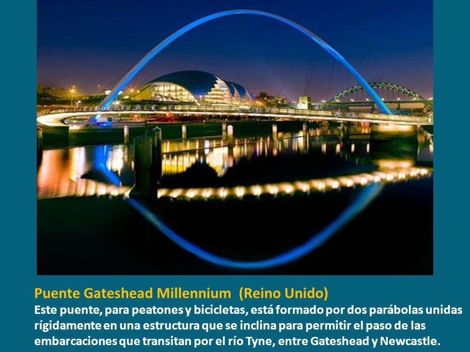 Puente Gateshead Millennium (Reino Unido)