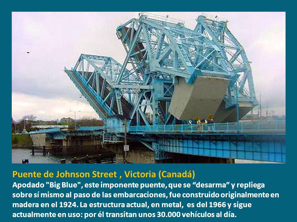 Puente de Johnson Street , Victoria (Canadá)