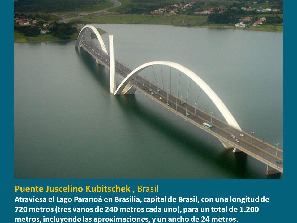 Puente Juscelino Kubitschek , Brasil