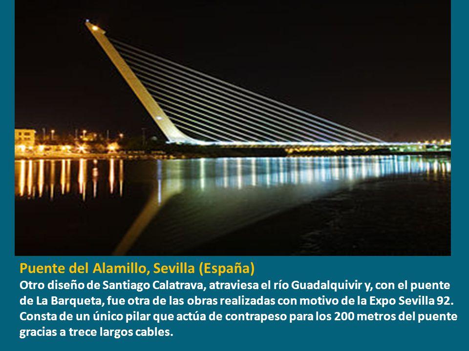 Puente del Alamillo, Sevilla (España)