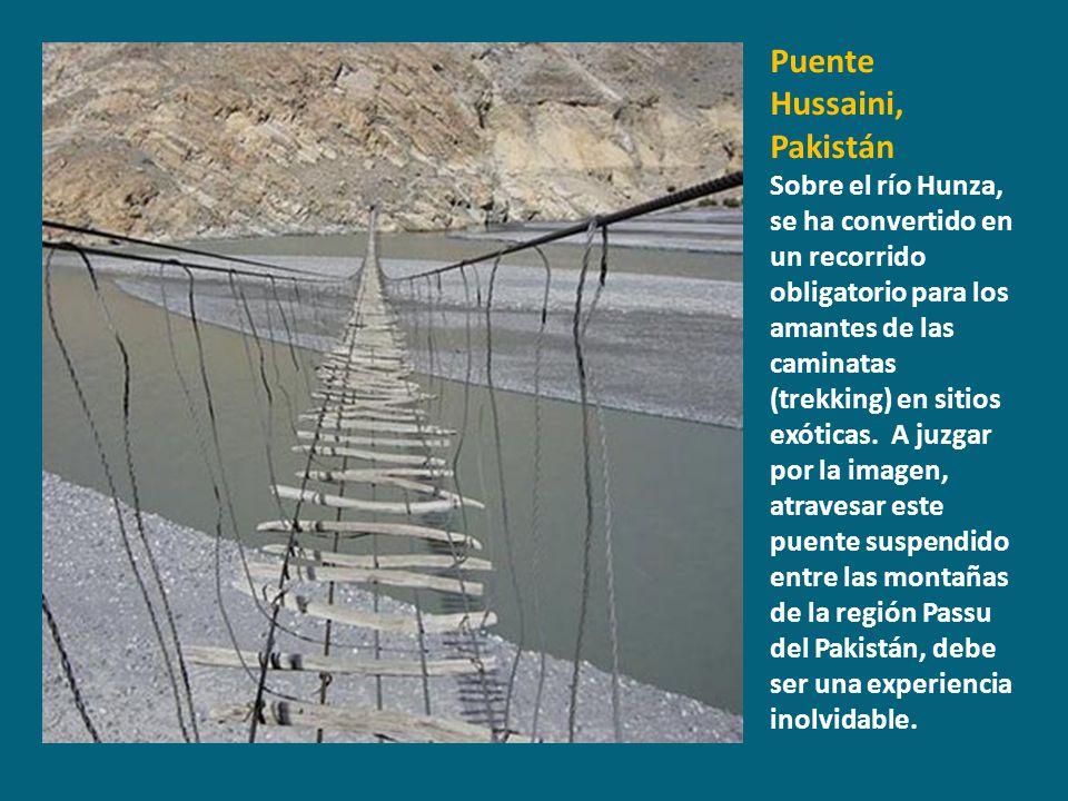 Puente Hussaini, Pakistán