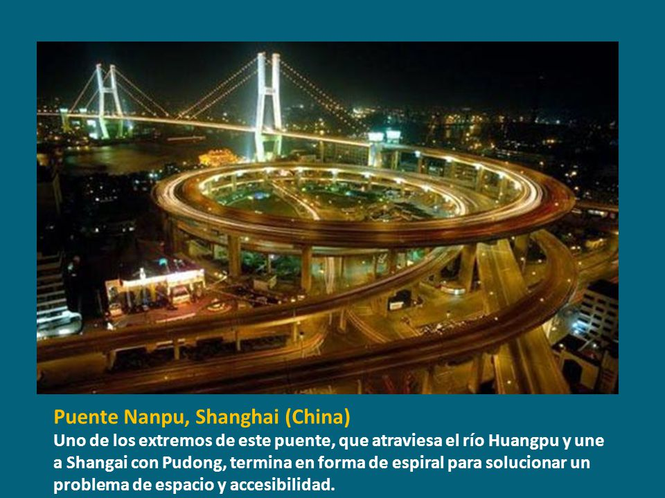 Puente Nanpu, Shanghai (China)