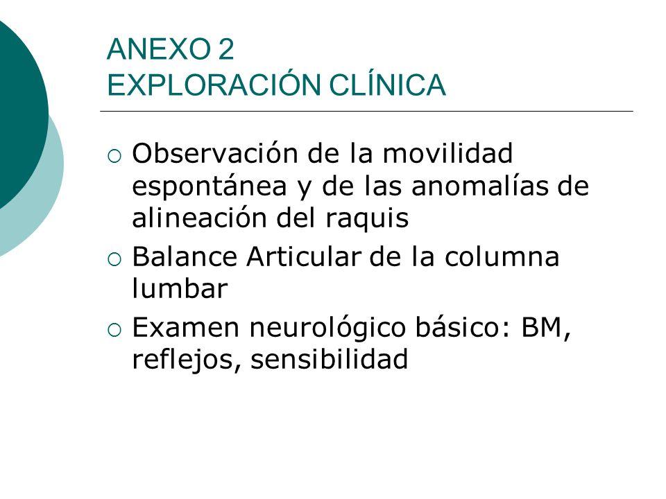 ANEXO 2 EXPLORACIÓN CLÍNICA