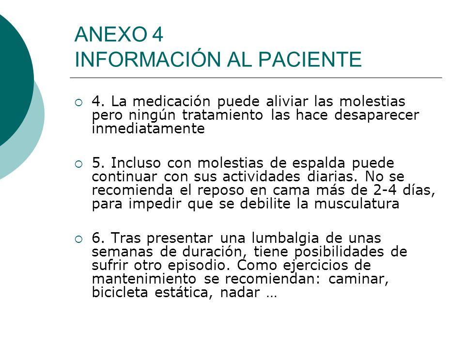 ANEXO 4 INFORMACIÓN AL PACIENTE