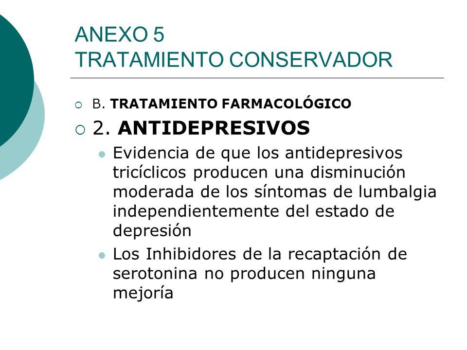 ANEXO 5 TRATAMIENTO CONSERVADOR
