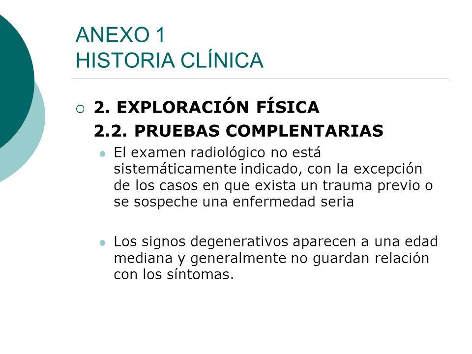 ANEXO 1 HISTORIA CLÍNICA
