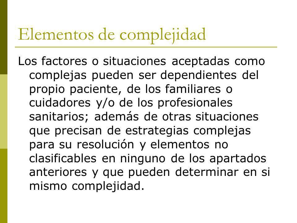 Elementos de complejidad