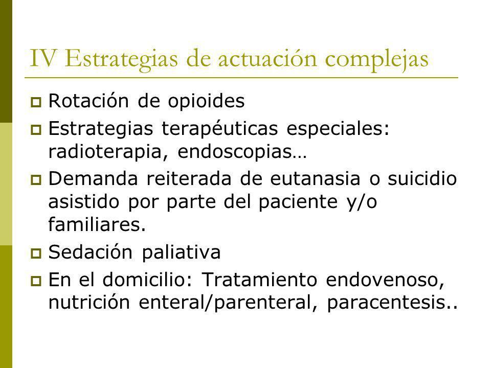 IV Estrategias de actuación complejas