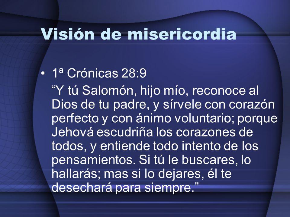 Visión de misericordia