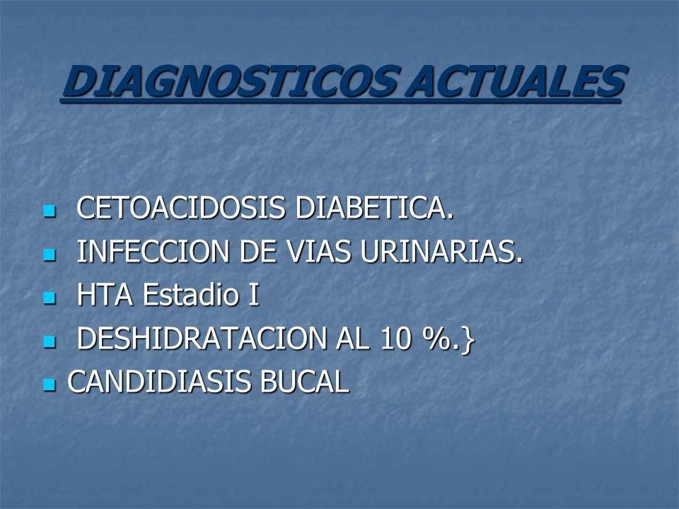 DIAGNOSTICOS ACTUALES
