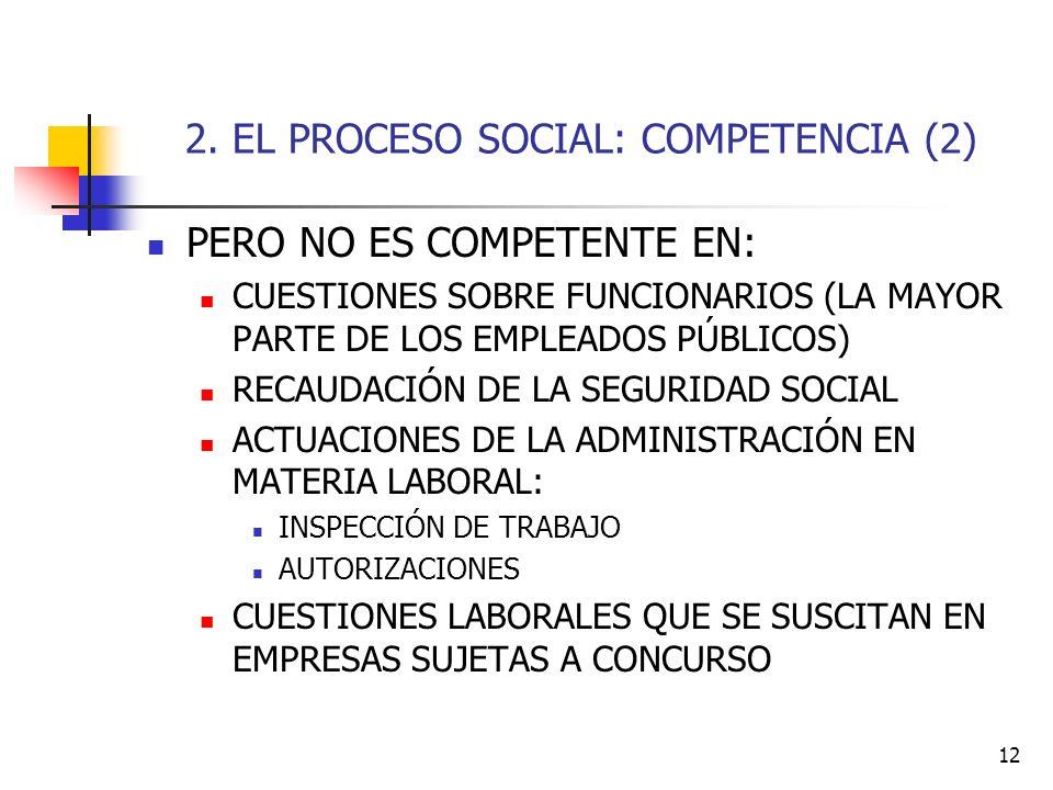 2. EL PROCESO SOCIAL: COMPETENCIA (2)