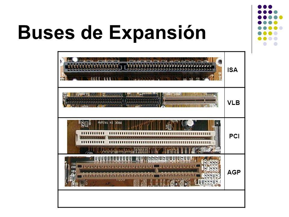 Buses de Expansión ISA VLB PCI AGP