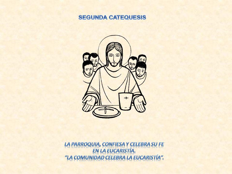 SEGUNDA CATEQUESIS LA PARROQUIA, CONFIESA Y CELEBRA SU FE