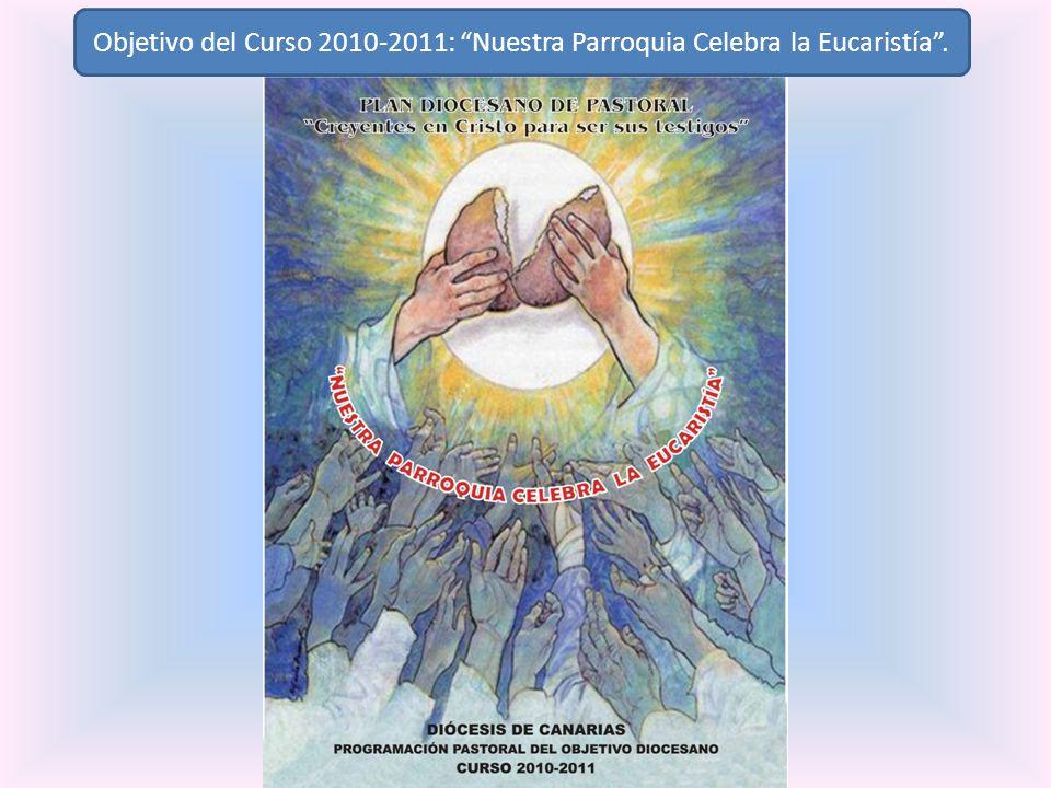 Objetivo del Curso 2010-2011: Nuestra Parroquia Celebra la Eucaristía .