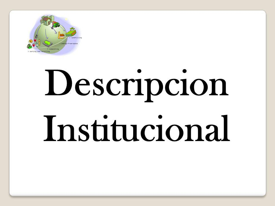 Descripcion Institucional