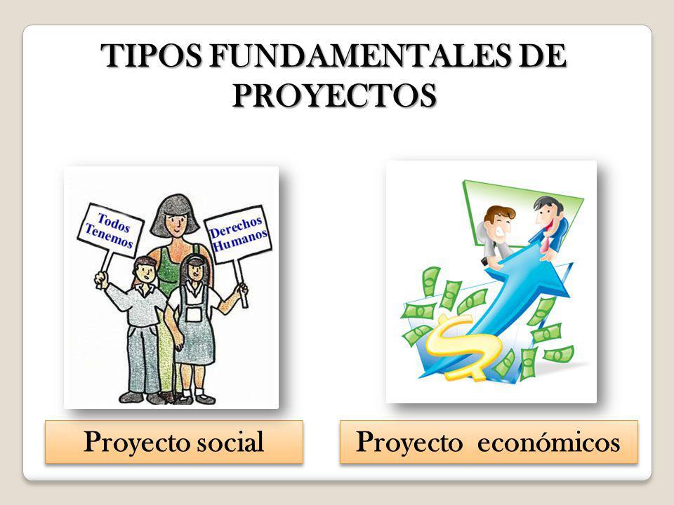 TIPOS FUNDAMENTALES DE PROYECTOS