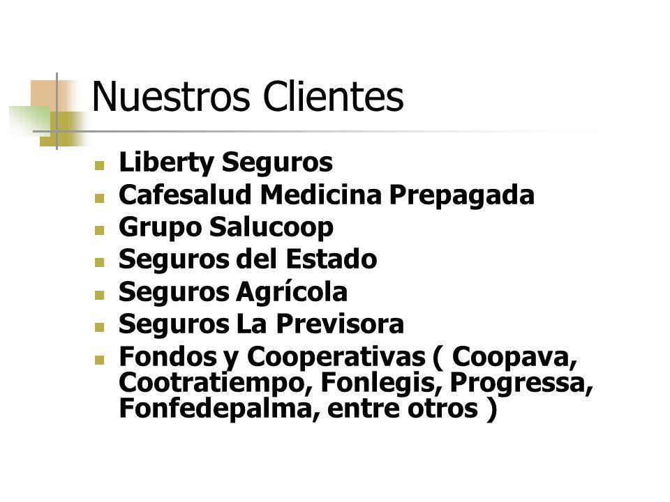 Nuestros Clientes Liberty Seguros Cafesalud Medicina Prepagada