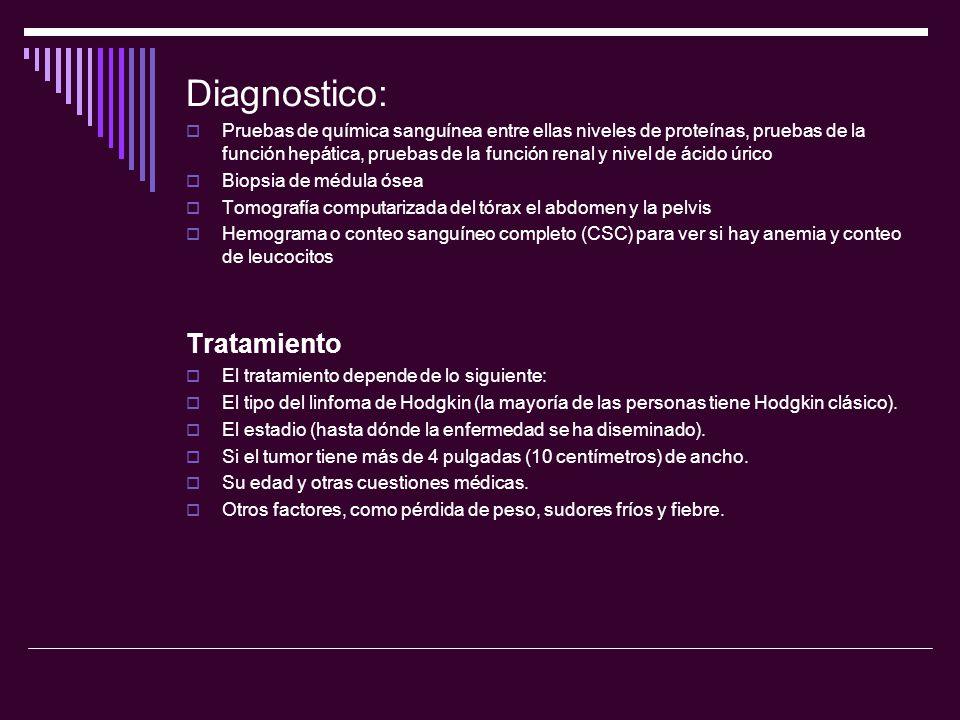 Diagnostico: Tratamiento