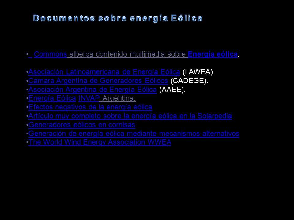 Documentos sobre energía Eólica