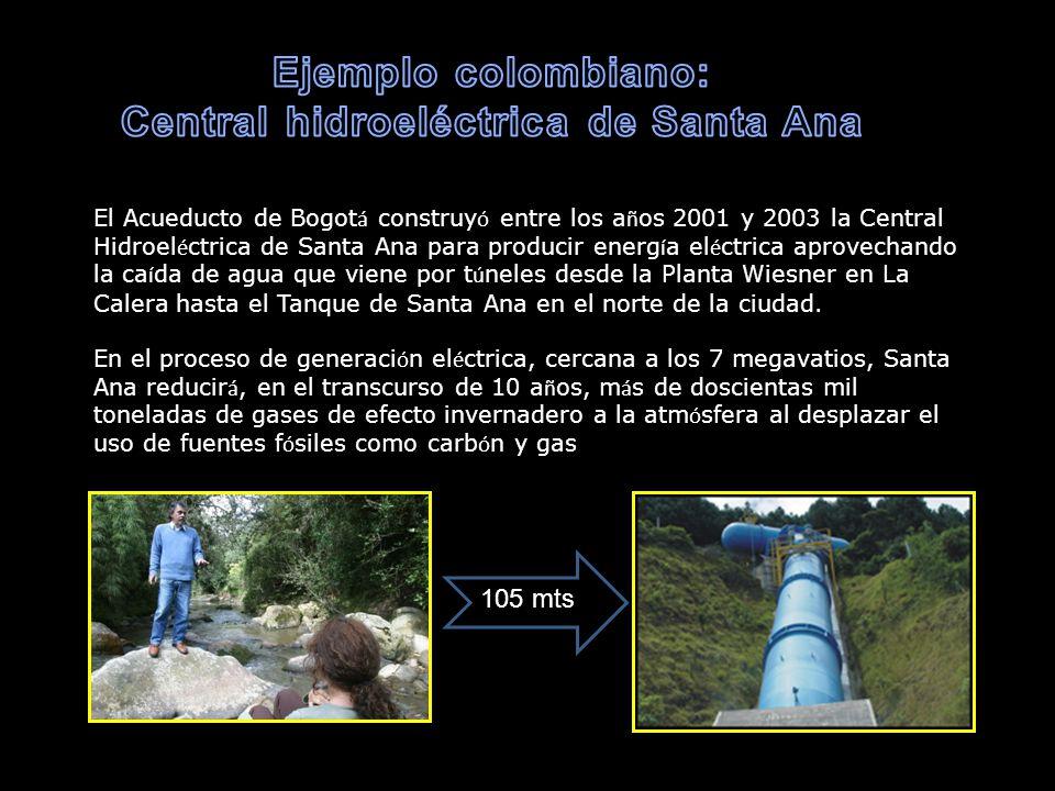 Central hidroeléctrica de Santa Ana