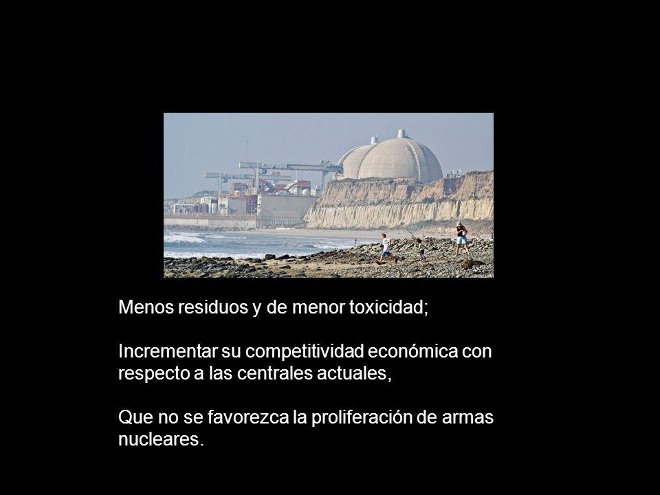 Energía nuclear de cuarta generación