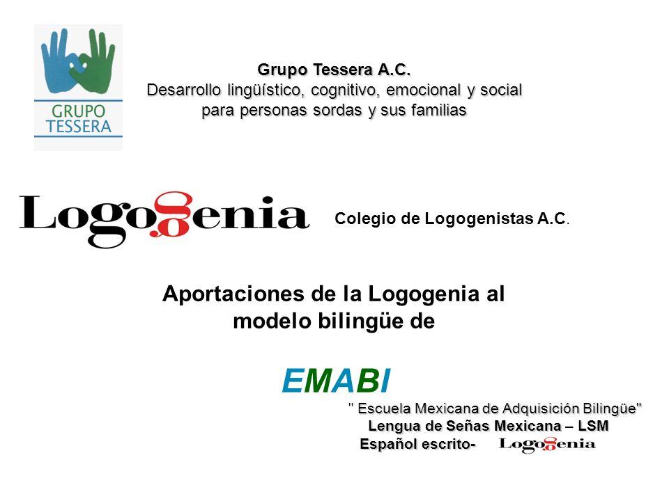 Aportaciones de la Logogenia al modelo bilingüe de