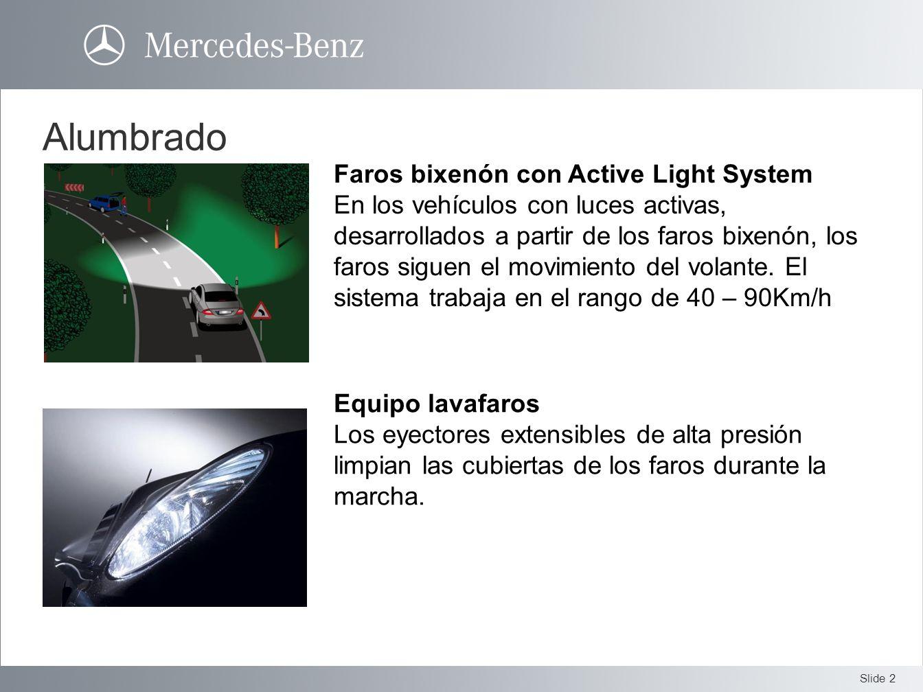 Alumbrado Faros bixenón con Active Light System