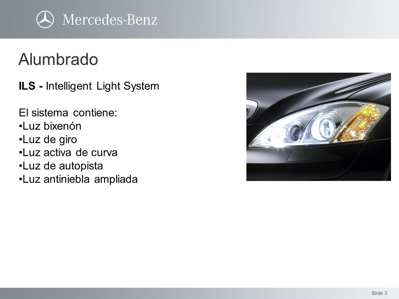 Alumbrado ILS - Intelligent Light System El sistema contiene: