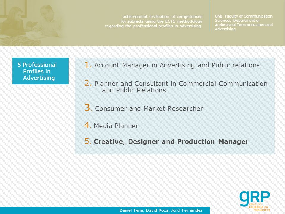 1. Account Manager in Advertising and Public relations