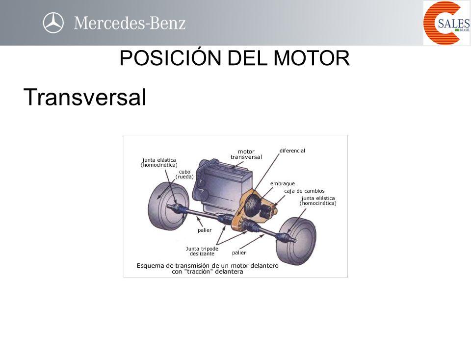 Transversal POSICIÓN DEL MOTOR TRANSVERSAL