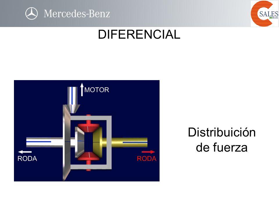 Distribuición de fuerza