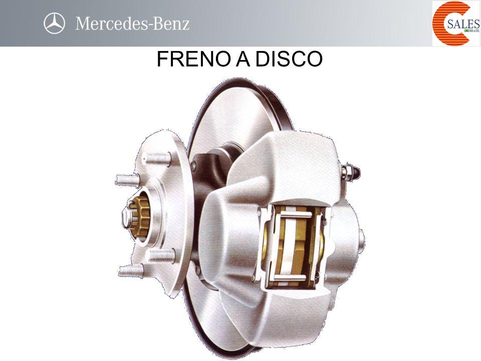 FRENO A DISCO utilizado atualmente nas rodas dianteiras (também nas traseiras) Parte fixa. solidária à estrutura do veículo por uma pinça,