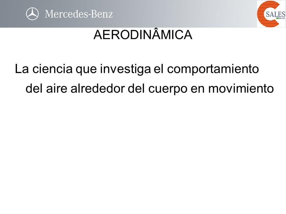 AERODINÂMICA La ciencia que investiga el comportamiento del aire alrededor del cuerpo en movimiento.