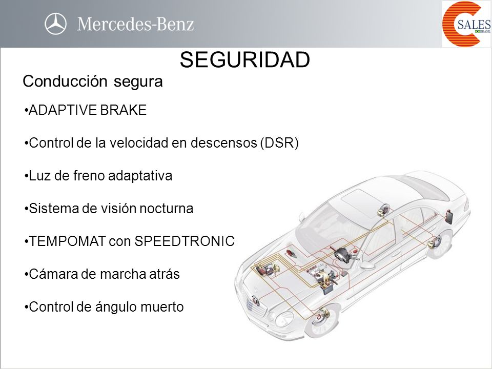 SEGURIDAD Conducción segura ADAPTIVE BRAKE