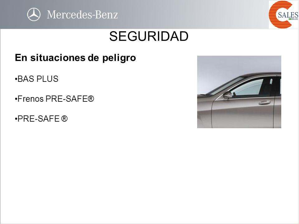 SEGURIDAD En situaciones de peligro BAS PLUS Frenos PRE-SAFE®