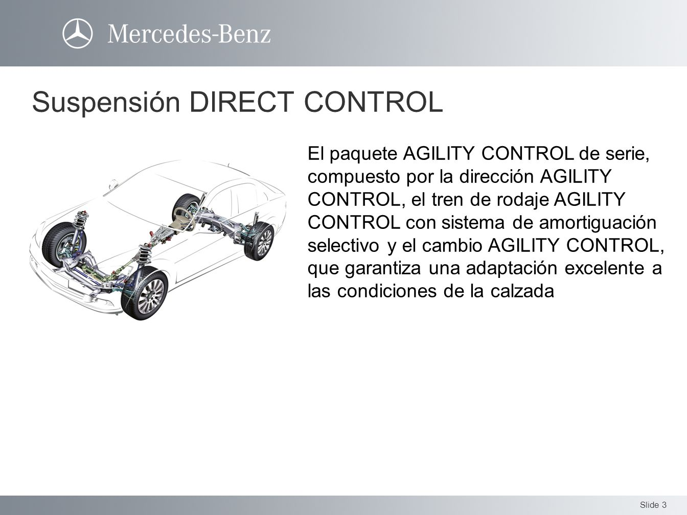 Suspensión DIRECT CONTROL