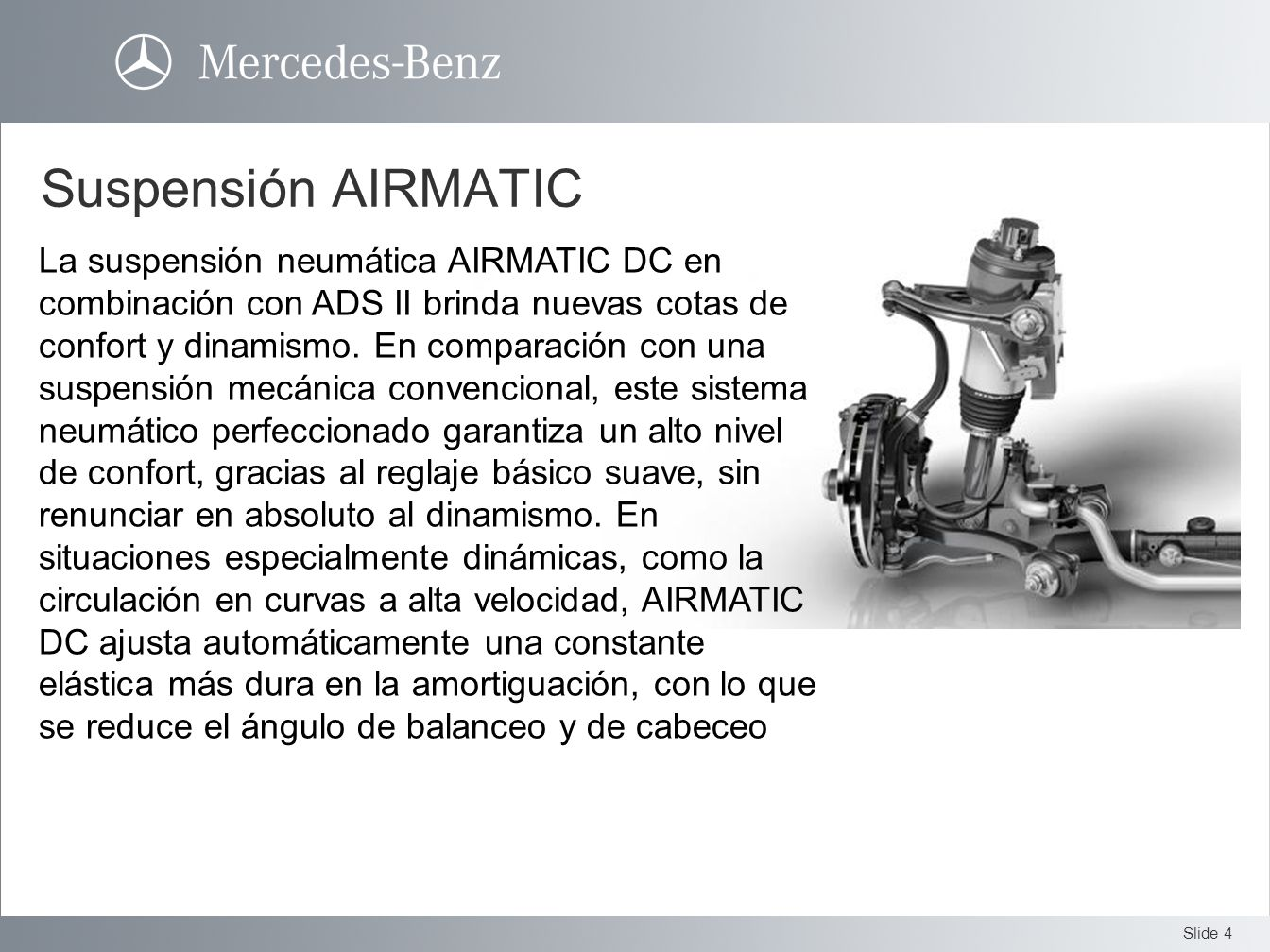 Suspensión AIRMATIC
